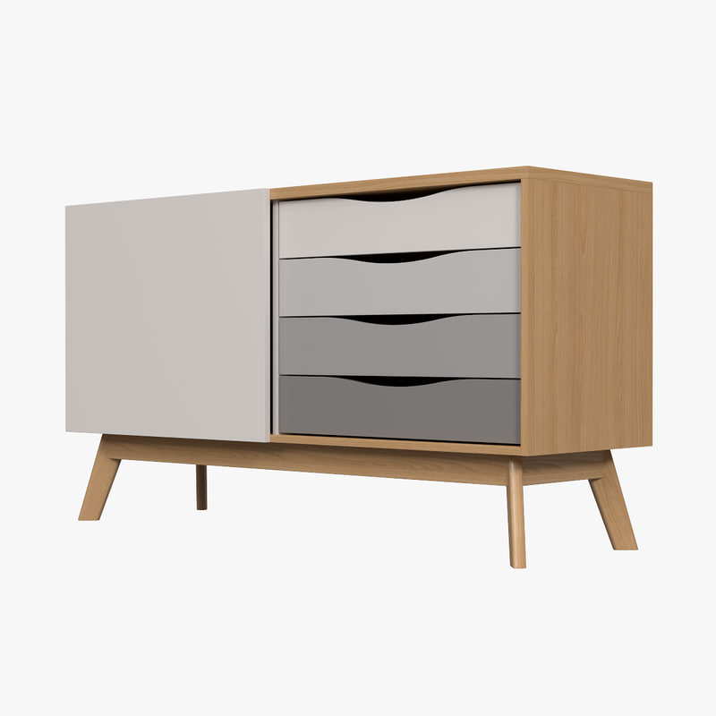 3d max avon sideboard side for Sideboard 3d