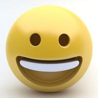 3d emoji happy