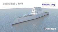 Zumwalt DDG-1000