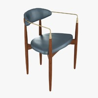 Viscount Brass Arm Chair by Dan Johnson