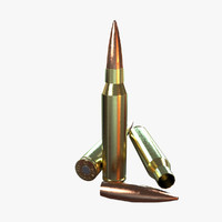 Bullet Low Poly