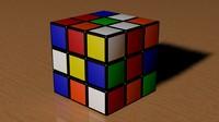 3x3 Scrambled Rubic Cube