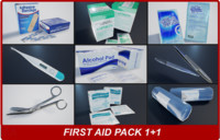 First Aid Pack 1 Plus 1 PBR