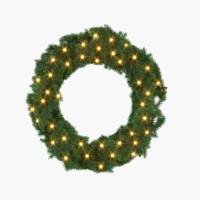 max decorative christmas wreath