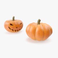 max halloween pumpkin photorealistic