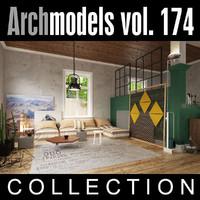 archmodels vol 174 3d model