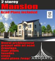 mansion materials v-ray max