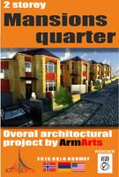 residential quarters 3d model