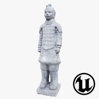 Terracotta Warrior UE4