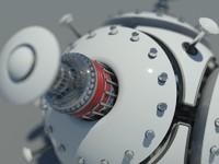 Mechanical Ball Droid Robot