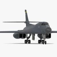 Strategic Bomber Rockwell B-1 Lancer
