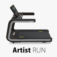 Artist Run Treadmill TechnoGym