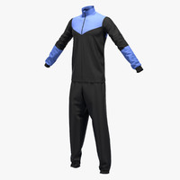 Male sport suit T pose