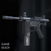 Submachine Gun Floro MP-9