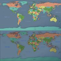 obj earthworldmapgoogleglobelandplanetlatitudelongitudescienceeducationspacehigh-precisionstate