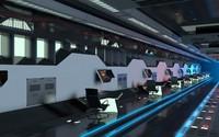 sci-fi hall