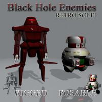 Black Hole Enemies