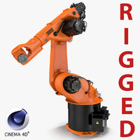 Kuka Robot KR 30-3 Rigged for C4D