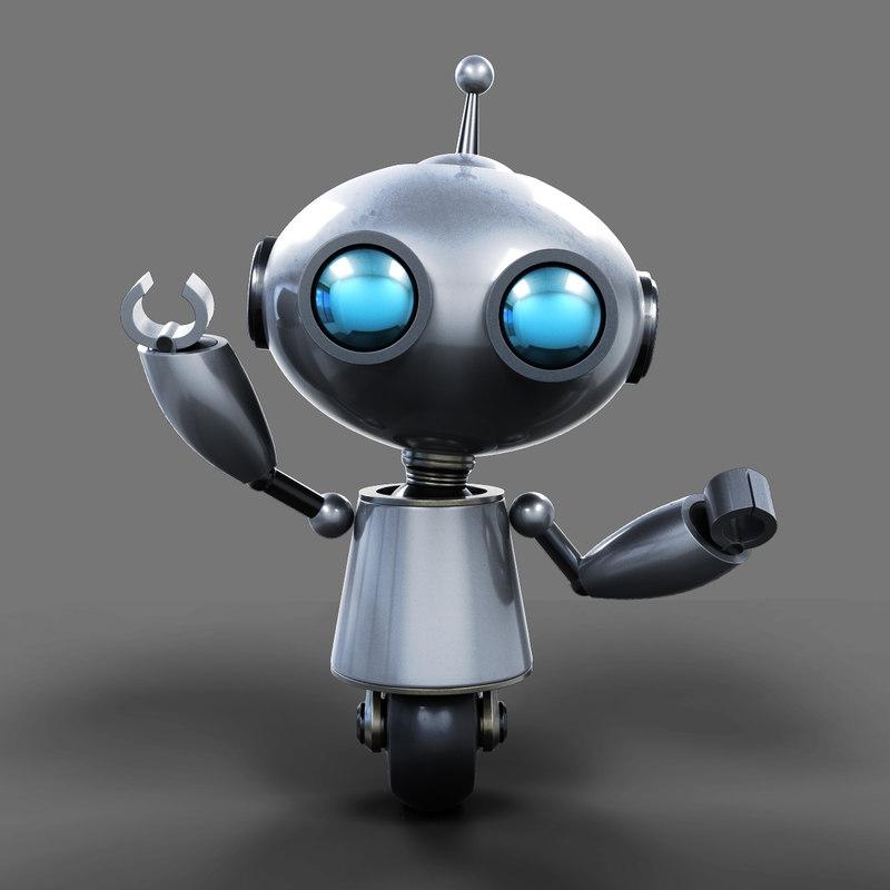 Cute robot