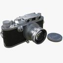 35mm camera 3D models