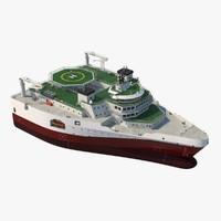Seismic Survey Vessel