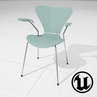 Arne Jakobsen Series 7 Chair UE4