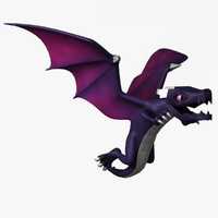 3d dragon clash clans model