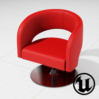 Swivel Furniture Design of Choo Chair UE4