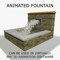 Animated Fountain 1