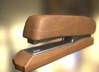 Stapler Rigged And Animated Wood Version