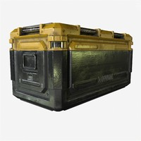 Sci-Fi Industrial Crate. Game Ready