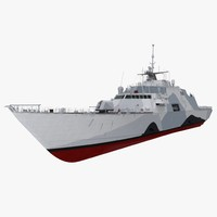 USS Freedom LCS-1 Rigged
