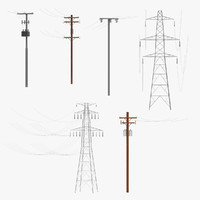 Electric Lines Set