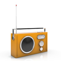 Cartoon Radio - HiPoly