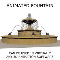 Animated Fountain 2