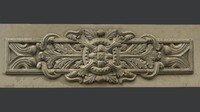 Classic Wall Bas Relief Molding