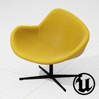 PlusHalle K2 Swivel Chair UE4