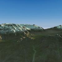 Terrain Snowy 01