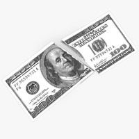 Dollar Bill Torn Up