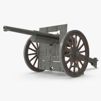 Schneider Cannon 75mm 1897