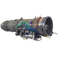 Eurojet EJ200 Military Turbofan Jet Engine