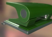 Hole Punch Basic Version Rigged And Animated