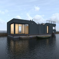 House boat C