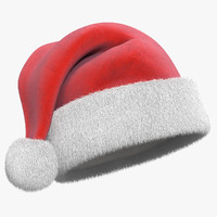 Christmas Hat with Fur