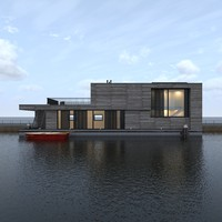 House boat A