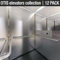 otis elevators 3ds