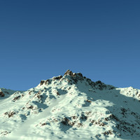 Terrain Snow Mountain 02