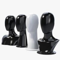 4 Mannequin Head