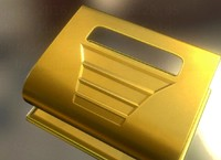 Hole Punch Gold Version Rigged And Animated