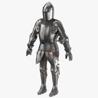 Medieval Knight Armor - Rigged